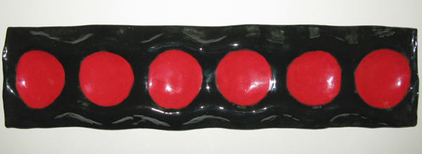 'Olive Red/Black' ~ Clay ~ 18x4.5
